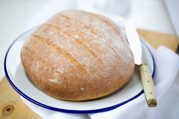 Pan integral de cerveza | Wholewheat beer bread