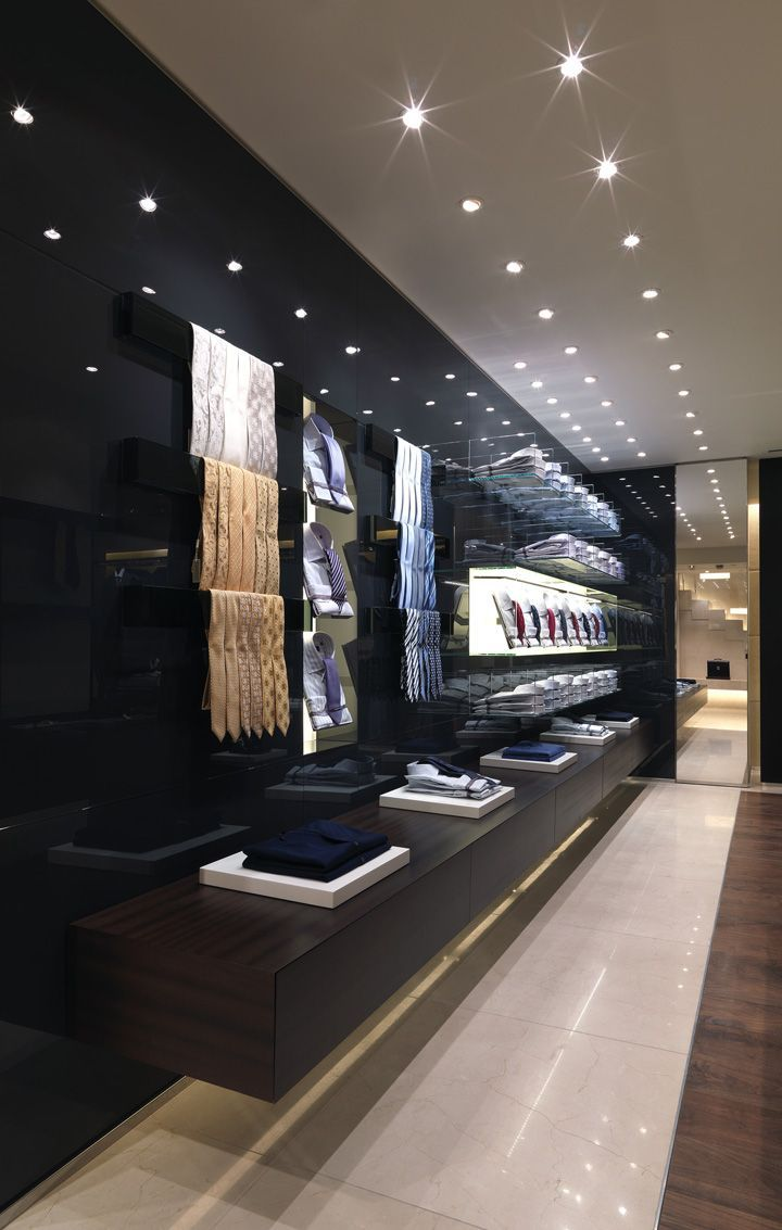 Canali building by grassicorrea london retail design - Interior design for retail stores ...