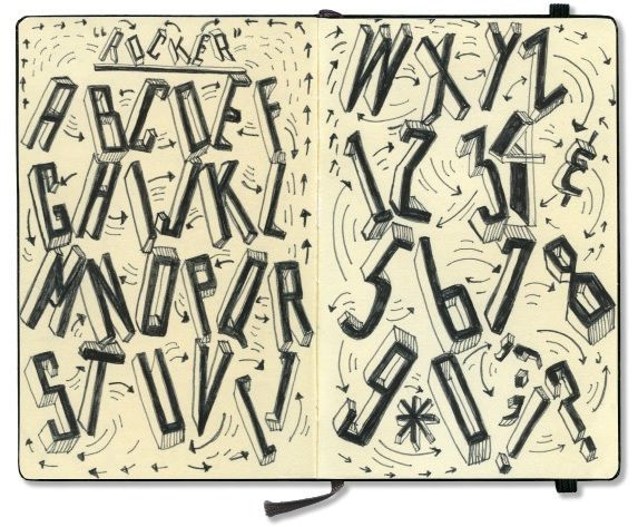 Peek Inside the Moleskines of Famous Culture Makers. This is Paula-Scher