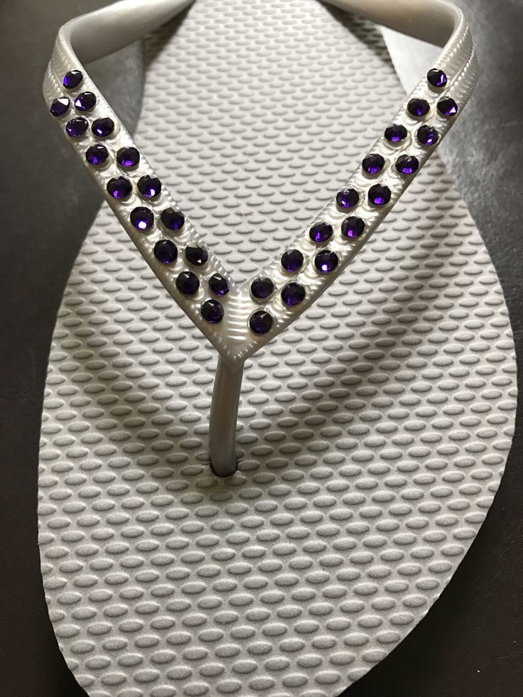 A personal favorite from my Etsy shop https://www.etsy.com/listing/499791890/blingy-bridesmaids-flip-flops