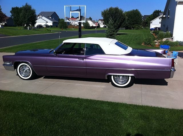 Cc D C Ce Cadillac Fleetwood The Purple