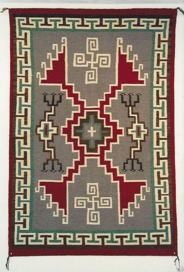 Primitive making tools rug