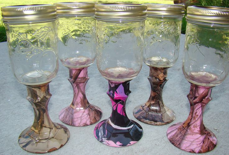 REDNECK+WINE+GLASS+in+custom+camo+patterns+by+Liquidimagesinc,+$16.00