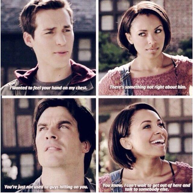 Kai, Damon and Bonnie The Vampire Diaries Season 6