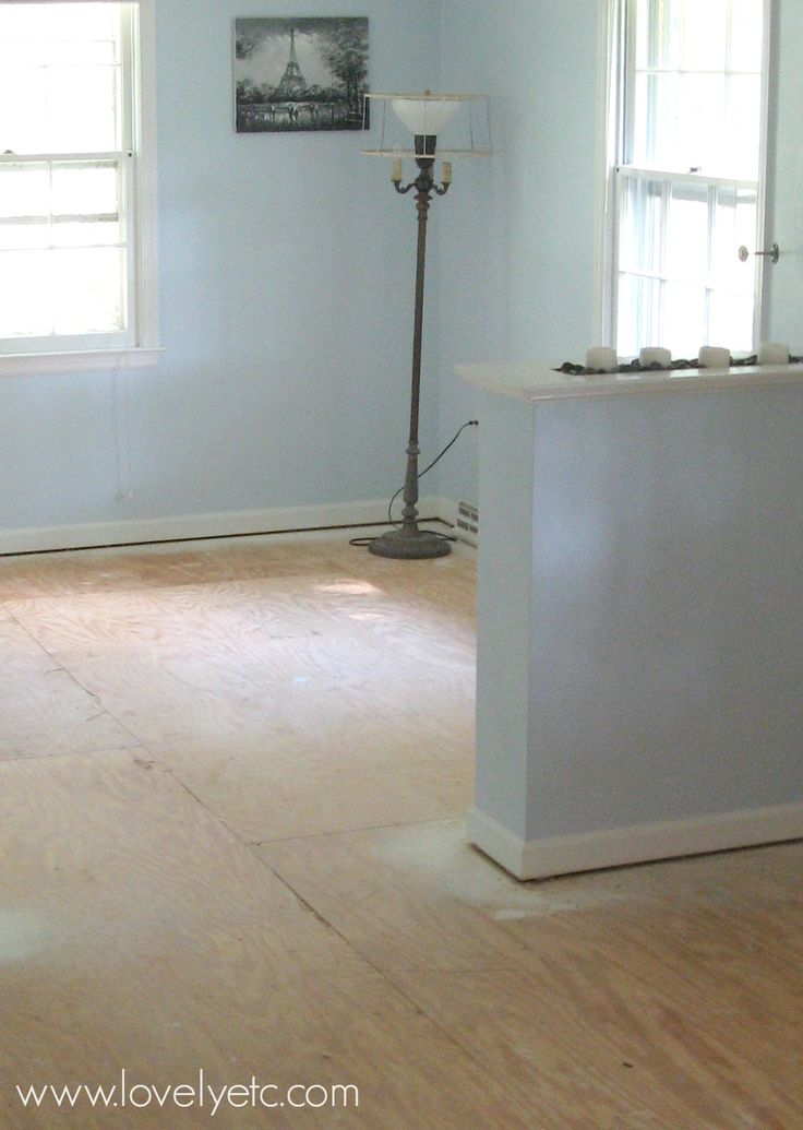 Amazing Painted Plywood Subfloor A How To Painted Wood