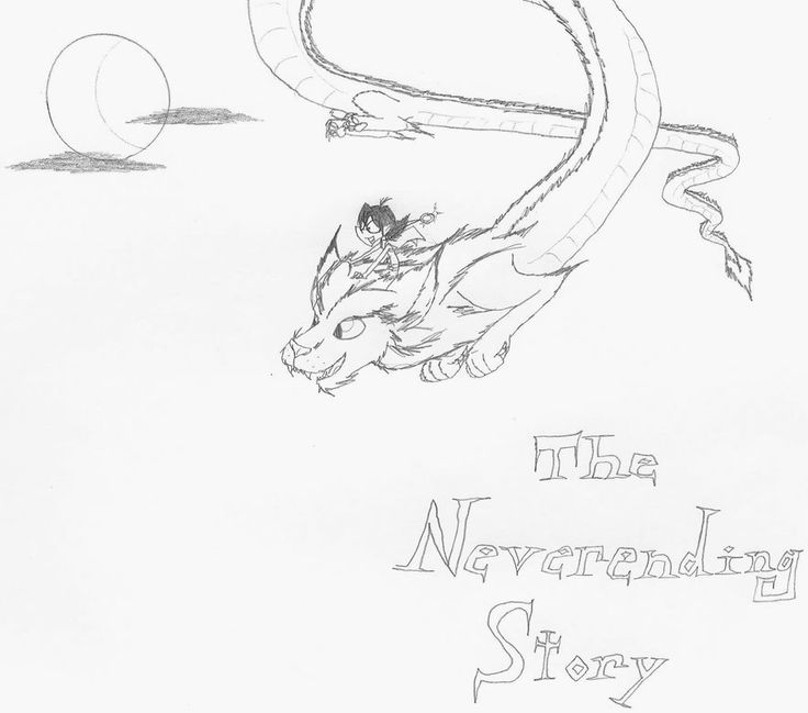neverending story coloring pages | 71 best LineArt: Never Ending Story images on Pinterest ...