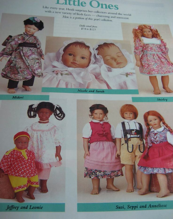 Heidi Ott Little Ones Doll Ad
