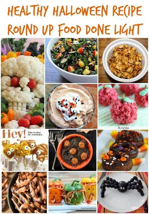 healthy halloween recipe round up - Funny Halloween Recipes