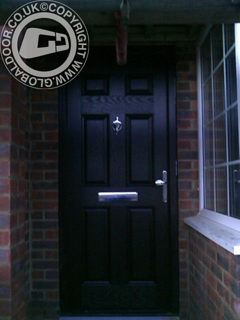 black-6-panel-global-composite-door-hidden & 26 best Light Oak Composite Doors - by Global Door images on ...