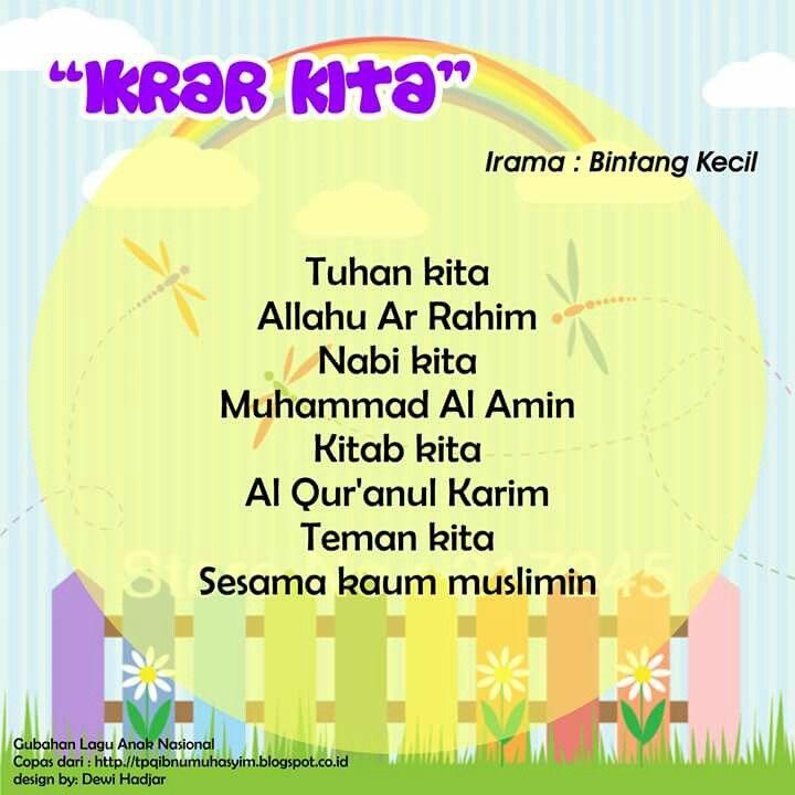 Ikrar Kita (original song Bintang Kecil)
