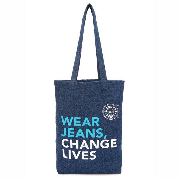 Jeans for Genes Day Denim Bag