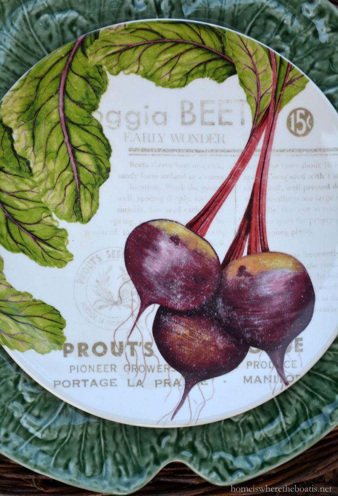 In the Potting Shed: Jardin de Legumes   homeiswheretheboatis.net #tablescape #garden