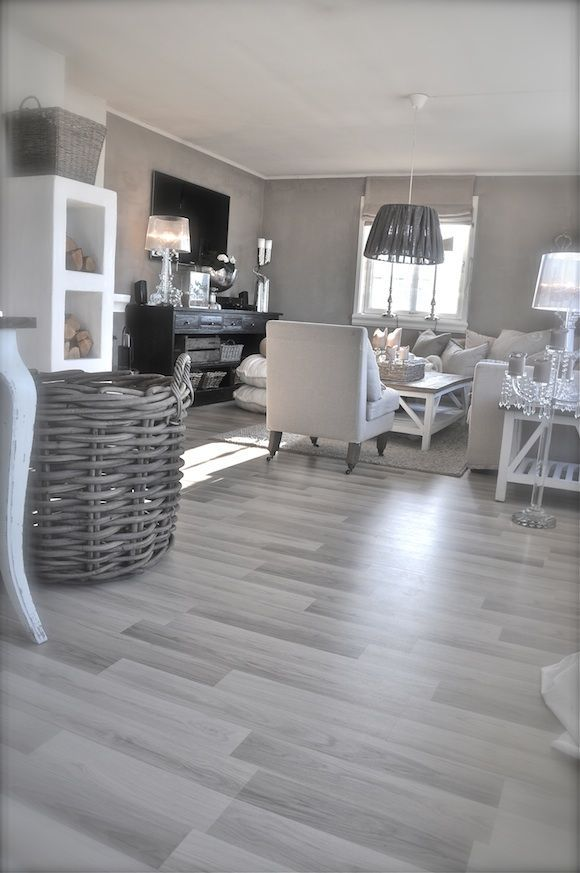 Scandinavian Bleached Wood Living Room Wood Floor House Flooring Living Room Flooring
