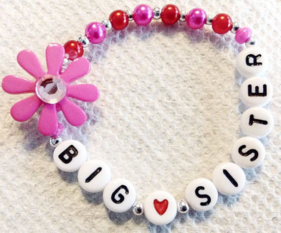 NEW BIG SISter Bracelet I'm the big sister gift by CommonScents1, $8.00