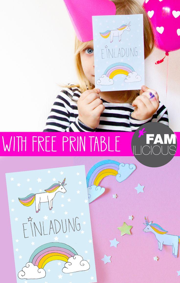 die 25 besten ideen zu einladungskarten kindergeburtstag zum ausdrucken auf pinterest. Black Bedroom Furniture Sets. Home Design Ideas