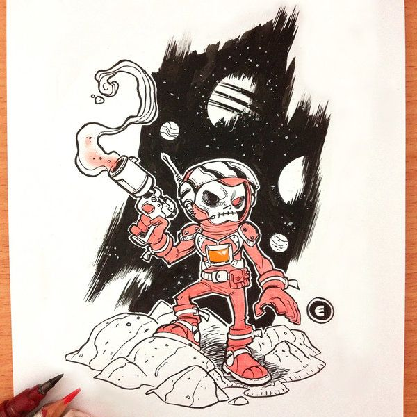 Inktober 30 by eduardovieira on DeviantArt