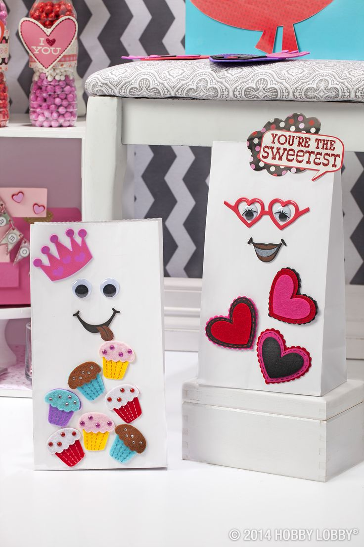 Hobby lobby craft bags - From Hobby Lobby Turn Our Fantastic Collection Of Valentine S Day Craft Supplies Into Gotta Love It Home