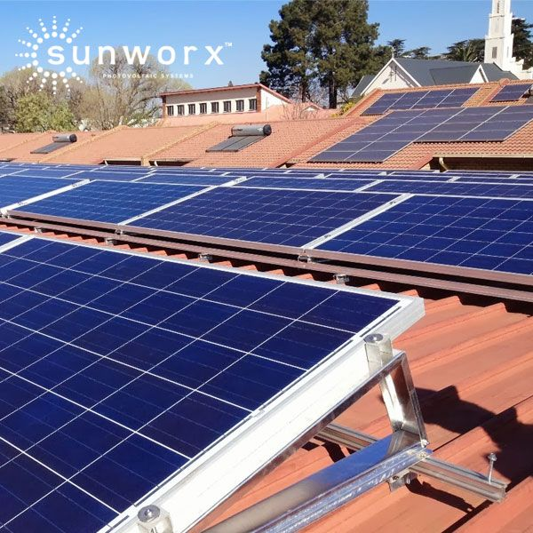 We love helping the people of Mpumalanga – 'the place where the sun rises' go solar!  St. Joseph's Home for the Aged in Middleburg is one of our forward thinking customers. Their installation will offset 3 400 tons of CO2. An equivalent of planting 24 347 trees! You rock! - SUNWORX