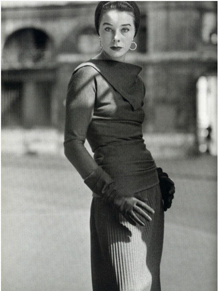 Model Bettina Graziani, 1950s