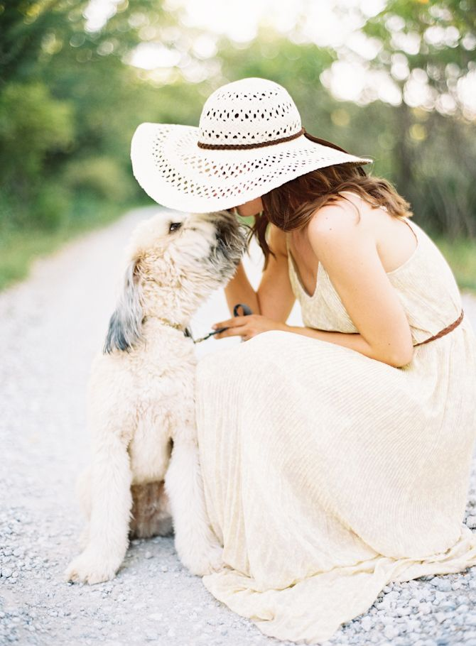 maxi dress and a floppy hat. by Megan Christine Photography