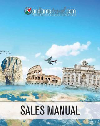 Andiamo Travel   2013 sales manual #AndiamoTravel