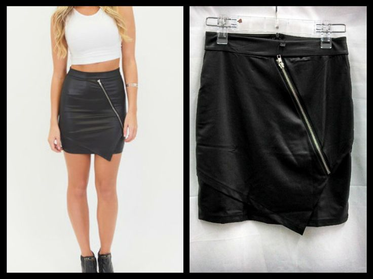 Zip It Skirt.  $34.95  Find it on Affordable Fashion.