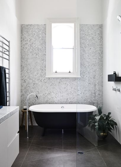 Gallery | Australian Interior Design Awards - Love the tile behind the tub