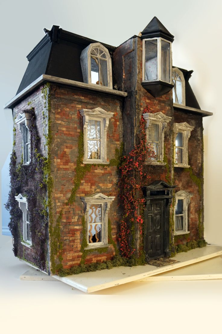 Victorian miniature houses - My House The Scary Skilcraft Victorian