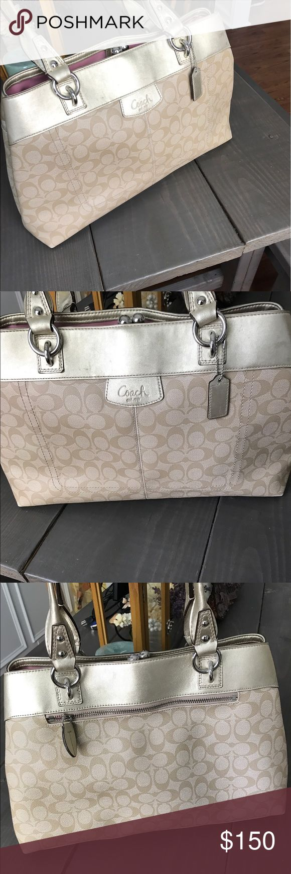 Coach tote bag This is enough and take old coach tote bag Coach Accessories