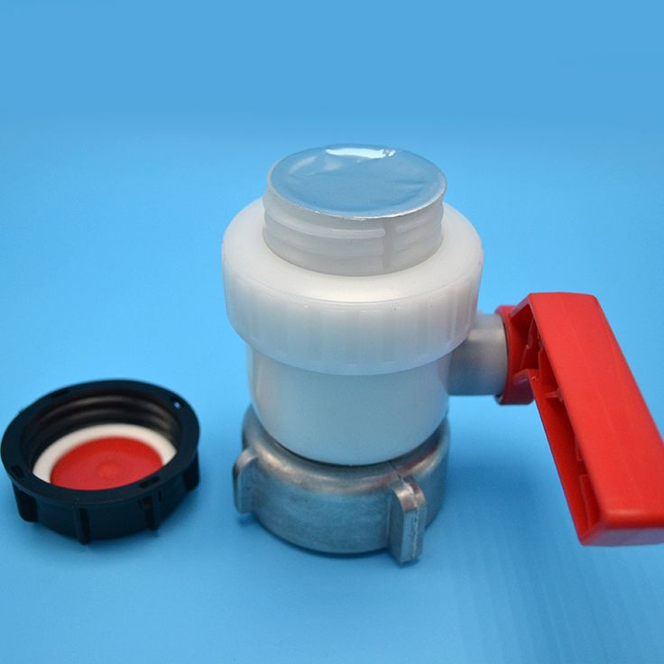 Type A 1000L Water IBC Tank Container 75mm Ball Valve