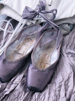 Nothing is more Beautiful than a Well Worn Beautiful Pair of Shoes That Served You Well!!! - love this! :)