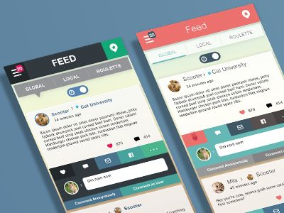 User Interface #Colorful