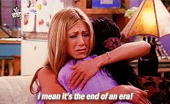 "Rachel: ""I mean, it's the end of an era!"""