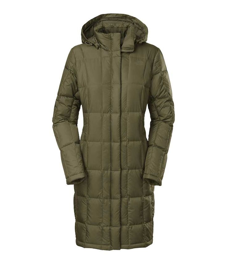 The North Face Metropolis Parka in Forest Night Green for Women