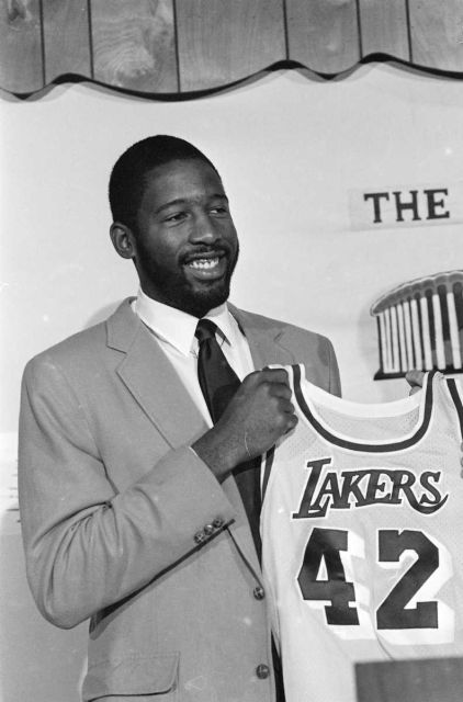 1982: JAMES WORTHY, forward, Los Angeles Lakers