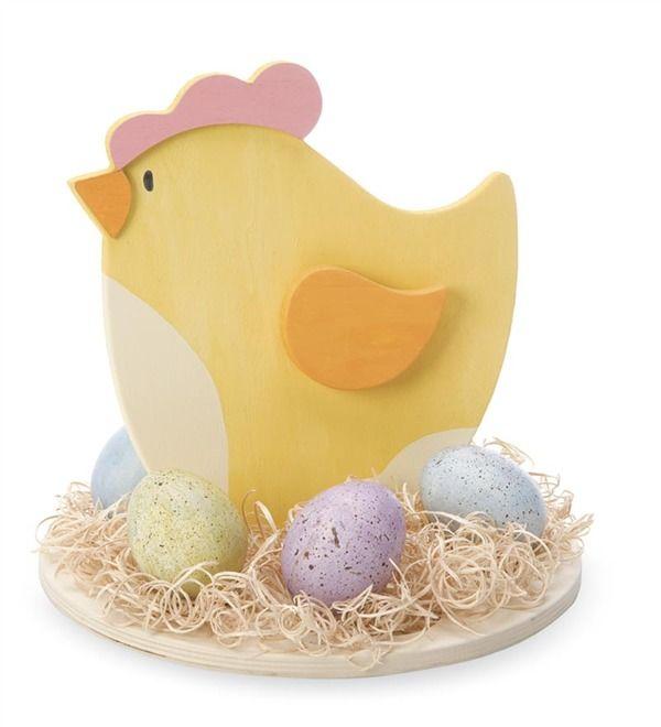 Main image for Wooden Hen on Nest Craft Kit