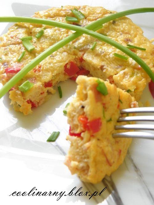 Pyszna, zdrowa propozycja: na śniadanie, do pracy, na przekąskę - frittata w wersji mini z dodatkiem kaszy jaglanej, warzyw i szyneczki :)