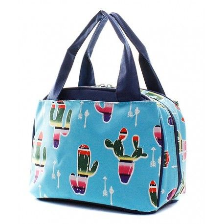Cactus Design Lunch Bag