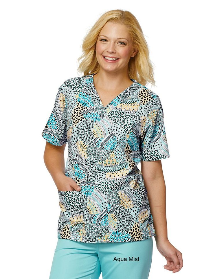 Share Tafford with your friends and receive a promo code for $5 OFF your order! (on qualifying brands) Tafford High Strung 2 Pocket Scrub Top