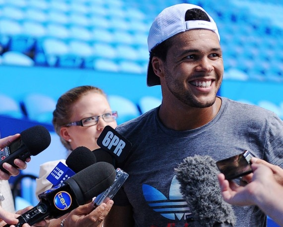 Tsonga thinks he can win a Grand Slam. Do you? Check out this interview with the frenchman!