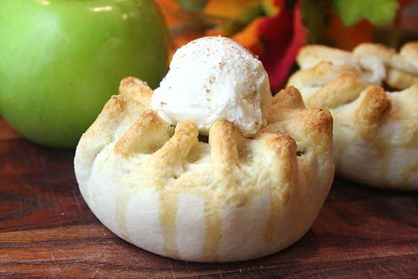 Rustic Apple Tarts With Calvados Whipped Cream Recipes — Dishmaps