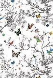 Birds and Butterflies from Schumacher