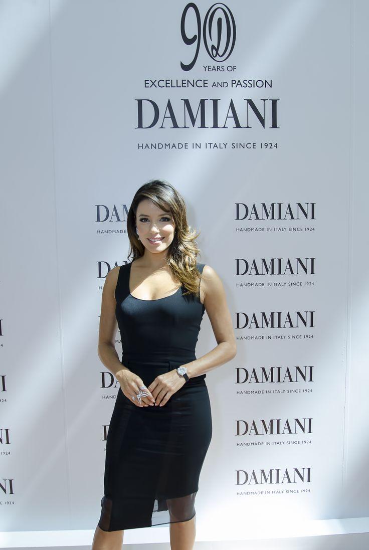 Eva Longoria at Damiani Boutique opening in Marina Bay Sands shopping  center, in Singapore