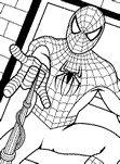 Dibujos de Spiderman para colorear y pintar. Imprimir dibujos de Spiderman para niños