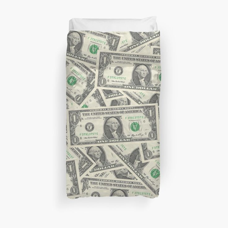 'Dollar Bills' Duvet Cover by morningdance