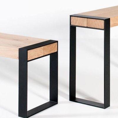 Bancas muebles herreria en 2019 pinterest muebles for Muebles industriales metal baratos