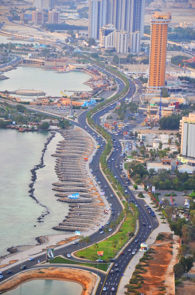 jeddah also known as the bride of the red sea ;)
