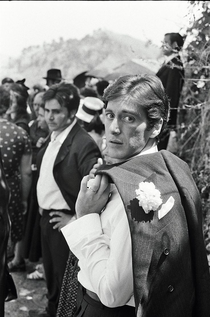 Paramount execs resisted casting Al Pacino as Michael, here in his Italian wedding scene, until seeing the dailies.
