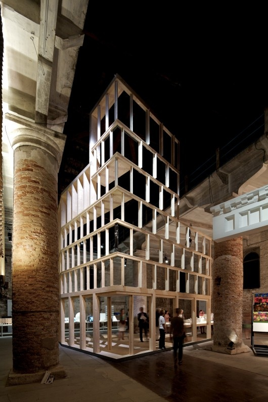 Bienal de Veneza 2012: Inhabitable Models / Eric Parry Architects, Haworth Tompkins, Lynch Architects