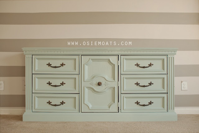 How To Paint Plastic Furniture Love This Mint Buffet